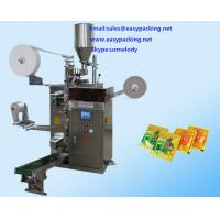 Wholesale Electrical Driven Type and New Condition Automatic Hotel Tea Sachet Packing Machine from china suppliers