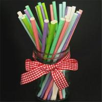 Wholesale Beautiful Decorative Paper Straws Drinking Straws Fit Family Gatherings from china suppliers