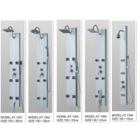 Wholesale 130 X 20 / cm Massage Jets Shower Columns Panels tempered glass  for bathroom from china suppliers