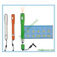 Wholesale novel plastic banner gift pen,torch plastic flag pen from china suppliers