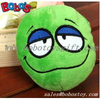 Wholesale Green Plush Squeakly Face Style Pet Toy Dog Cat Toy from china suppliers