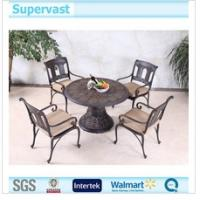 Wholesale Luxury Cast Aluminum Patio Furniture , Outdoor Garden Decorative Table And Chairs from china suppliers