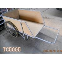 Wholesale Wooden Trailer/ garden Tool Cart Platform trailer  hand trucl TC5005 from china suppliers