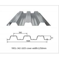 Wholesale Galvanized Metal Floor Decking Sheets 38 - 113 Mm Wave Height 60 - 275g/M2 Zinc Weight from china suppliers