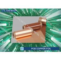 Wholesale 51'' x 39'' Dimension Heavy Electrolytic Copper Foil Rolls / pcb copper foil from china suppliers