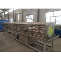 Buy cheap PP PE Single Screw Plastic Pipe Extrusion Line , PE Pipe Production Line from wholesalers