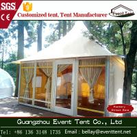 Wholesale clear span yurt tent manufacturers , luxury pagoda hotel tent carpas from china suppliers