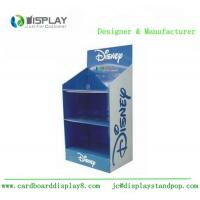Wholesale 3 Tiers Cardboard Display Rack , Shop Retail Product Promotional Display Stands from china suppliers