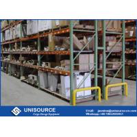 Wholesale Industrial Steel Storage Teardrop Pallet Rack Flexible Design With Wire Mesh Decking from china suppliers