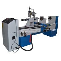 Wholesale CNC Wood Turning Lathe KC1530-S with lathe cutter and carving spindle from china suppliers