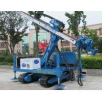 Quality Pipe Shed Engineering  Crawler Drilling rig With Big Arm Anchor hole for sale