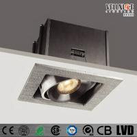 Wholesale 6W IP20 Pure Aluminum LED Recessed Downlight 3000K 700mA Hotel Down Lights from china suppliers