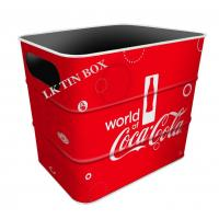Wholesale Carslberg Coca Cola Beer Coke Tin Ice Bucket With Printing And Embossing from china suppliers