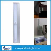 Wholesale Battery Powered Wall Mounted Night  Slim LED Magnetic Motion Sensor LED Under Cabinet Light for Closet Kitchen from china suppliers