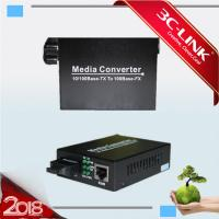Buy cheap 10/100M WDM Converter RJ-45 Fiber Optic mini Medioa Converter sfp module from wholesalers