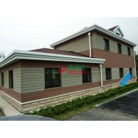 Wholesale Customized WPC Exterior Wall Cladding Weather Resistant Fire Resistance No Cracking from china suppliers