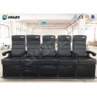Wholesale Luxury Motion Chair 5 Seats 4D Cinema System With Spray Air / Vibration from china suppliers