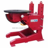 Wholesale Tiltable Manual Pipe Welding Positioners 400mm Stroke Table Elevation from china suppliers