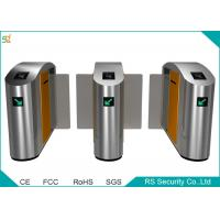 Wholesale Half Height IR Sensor Automatic Turnstile Bi direction Sliding Gate from china suppliers