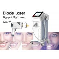 China Mobile Laser Hair Removal Machine For Women 12 Laser Bars 10.4 Inch Display on sale