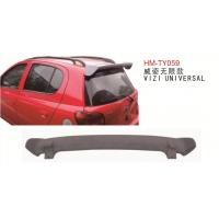 Wholesale Universal type Rear Wing Spoiler for Toyota VIZI Air Interceptor withour LED Light from china suppliers