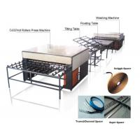 Wholesale Double Insulating Glass Production Line / Machine with 5 Pairs Rollers from china suppliers