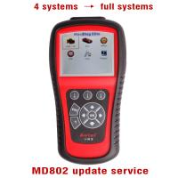 Wholesale Autel MaxiDiag MD802 Update Service From 4 Systems To All Systems from china suppliers