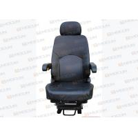 Wholesale PU Black Leather Excavator Seats Hyundai Sany Excavator Parts Angle Adjustable from china suppliers