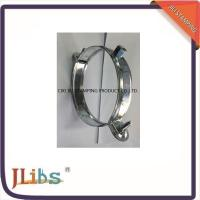 Wholesale Custom Standard Galvanised Steel Hanging Pipe Clamps 63mm - 315mm from china suppliers