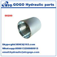 Wholesale Sae 100 R2AT/EN 853 2SN Stainless Quick Connect Fittings , Quick Connect Connector from china suppliers