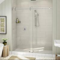 Wholesale Top Roller Bathroom Sliding Glass Door Frameless Shower Enclosure from china suppliers
