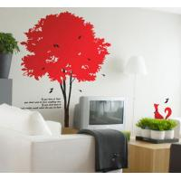 Wholesale Cool Tree Wall Flower Stickers G108 / Wall Sticker Art from china suppliers