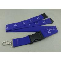 Wholesale Factory Customized Sublimation Printing Promotional Lanyards , Polyester Material With Breakaway Buckle from china suppliers