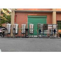 Wholesale 5000LPH Water Softener System Two Stage One Work One Standby Auto SS RO Water Purifier from china suppliers
