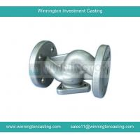 Buy cheap Valve body precision investment casting CNC machining capacity electro polished finish from wholesalers