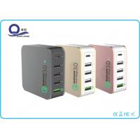 Wholesale 5 Ports 40W Multiple USB Charger , Quacomm Quick Charger with Type - C USB Output from china suppliers