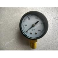 Wholesale 2.5 Inch ( 63mm ) Steel Black Dry Pressure Gauge With Shrink Bezel from china suppliers