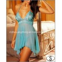 Wholesale Deep V Sexy Lingerie Dress Sexy Underwear Women Lace Babydoll from china suppliers