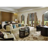 Wholesale Deluxe Luxury Hotel Furniture , Hotel Guest Room Furniture In Oak Finish from china suppliers