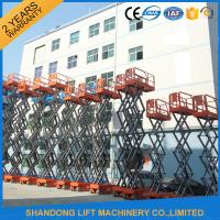 Wholesale High Rise Telescopic Work Platform for Elevated Aerial Working 3.2km/h Travel Speed from china suppliers
