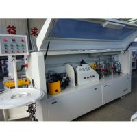 Wholesale Full automatic PVC edge banding machine KC307D with gluing end cutting rough  fine trimming scraping buffing functions from china suppliers