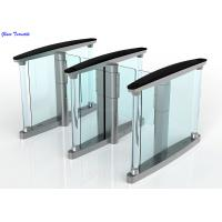 Wholesale RFID Card Security Entrance Speed Gates / Half Height Optical Turnstile Door from china suppliers