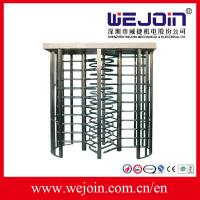 Wholesale 0.2 Second High speed  Full Height Turnstile Systems Passage , pedestrian access control from china suppliers