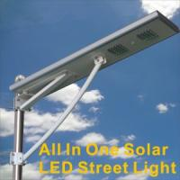Wholesale 40W high quality all in one solar LED street light from Amax solar company from china suppliers