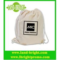Wholesale cheap cotton drawstring bags from china suppliers