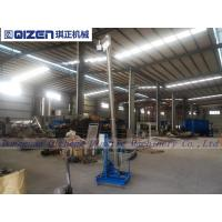 Wholesale Plastic Material Flexible Spiral Conveyor , Customized Size Grain Screw Conveyor from china suppliers