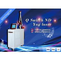 Wholesale 2000W Large Energy Q - Switched ND Yag Laser Machine For Tattoo Removal / Nevus Of Ota / Pigmentation Removal from china suppliers