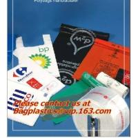 Wholesale Vest Handle Sealing bags, Handle and Plastic Material custom printed plastic t shirt bags from china suppliers