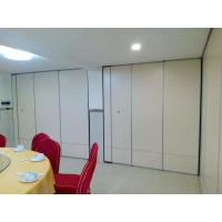 Wholesale Sliding Movable Office Acoustic Room Dividers with Aluminium Track Melamine Surface from china suppliers