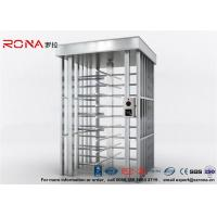 Wholesale Deluxe Automatic Full Height Turnstile  Pedestrian System Parking Facilities Rotating Gate With 304# Stainless Steel from china suppliers
